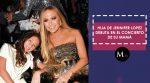 Hija de Jennifer Lopez debuta en el concierto de su mamá