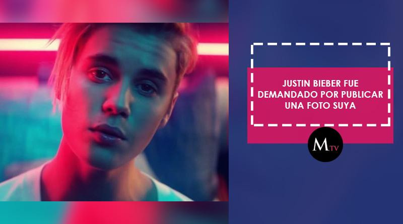Paparazzi demanda a Justin Bieber por publicar una foto de él mismo