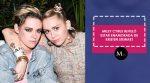 Miley Cyrus reveló estar enamorada de Kristen Stewart