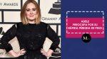 Adele preocupa por su rápida pérdida de peso