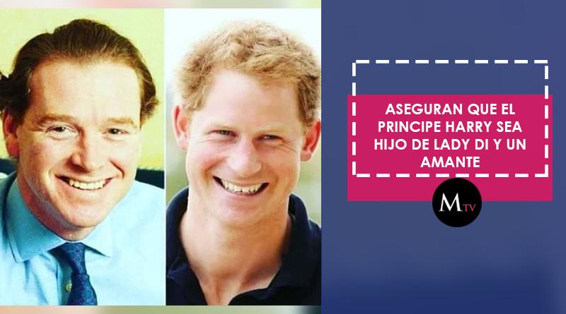 Aseguran que el Principe Harry sea hijo de Lady Di y un amante
