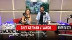 «Chef Germán Vivanco: Antes y después de Masterchef» en ¿Qué Pasa? con Mariela
