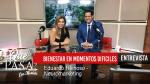"""""""Bienestar en momentos difíciles"""" con Eduardo Reinoso ¿Qué Pasa? con Mariela"""