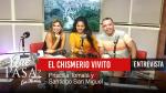 «¡El Chismerío vivito!» Entrevista a Santiago San Miguel y Priscilla Tomalá en ¿Qué Pasa? con Mariela