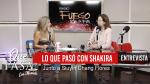 «Lo que realmente pasó cuando Mariela conoció a Shakira» en ¿Qué Pasa? con Mariela