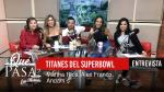 «Titanes del SuperBowl – Jlo vs  Shakira» en ¿Qué Pasa? con Mariela