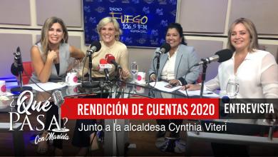 «Rendición de Cuentas con la Alcaldesa Cynthia Viteri»
