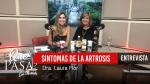 «Signos y síntomas de la Artrosis» – Dra. Laura Flor en ¿Qué Pasa? con Mariela