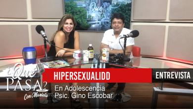 Hipersexualidad en la adolescencia» en ¿Qué Pasa? con Mariela