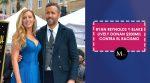 Ryan Reynolds y Blake Lively donan $200mil contra el racismo