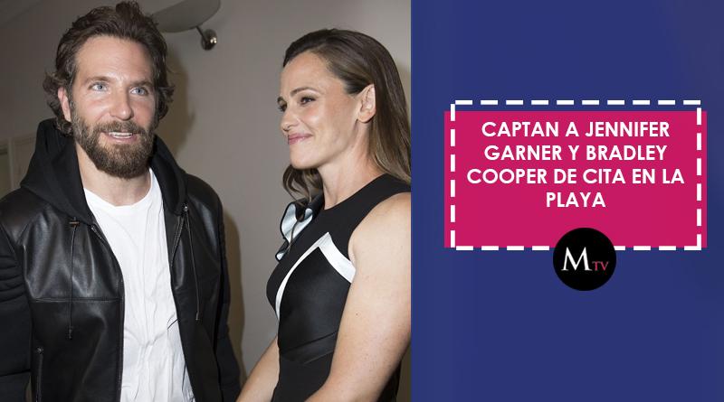 Captan a Jennifer Garner y Bradley Cooper de cita en la playa