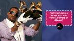 "Twitter censura a Kanye West por ""orinar"" sobre un Grammy"