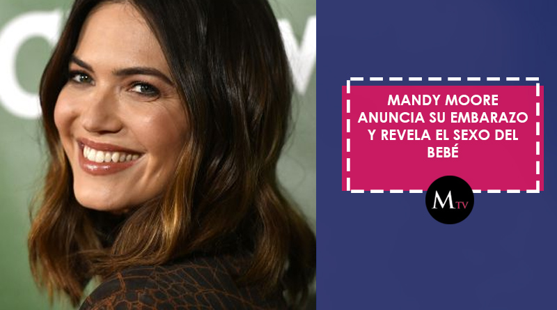 Mandy Moore anuncia su embarazo y revela el sexo del bebé