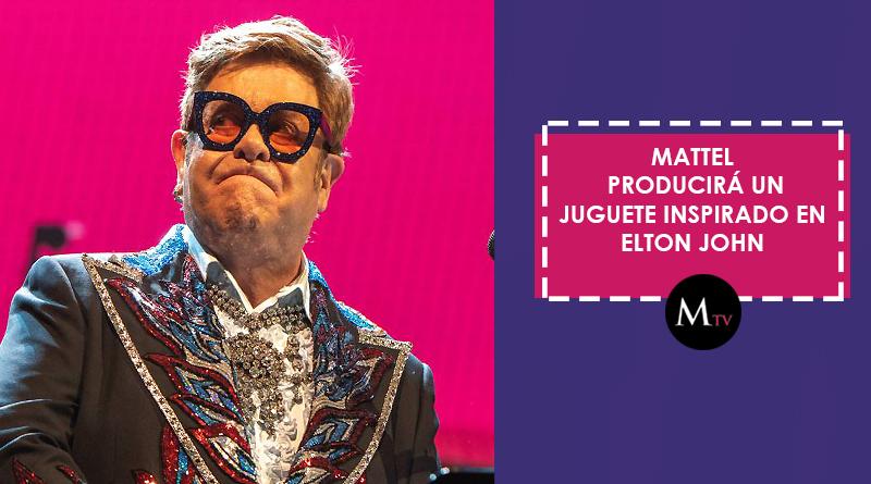 Mattel producirá un juguete inspirado en Elton John