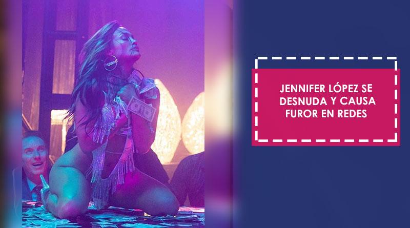 Jennifer López se desnuda y causa furor en redes