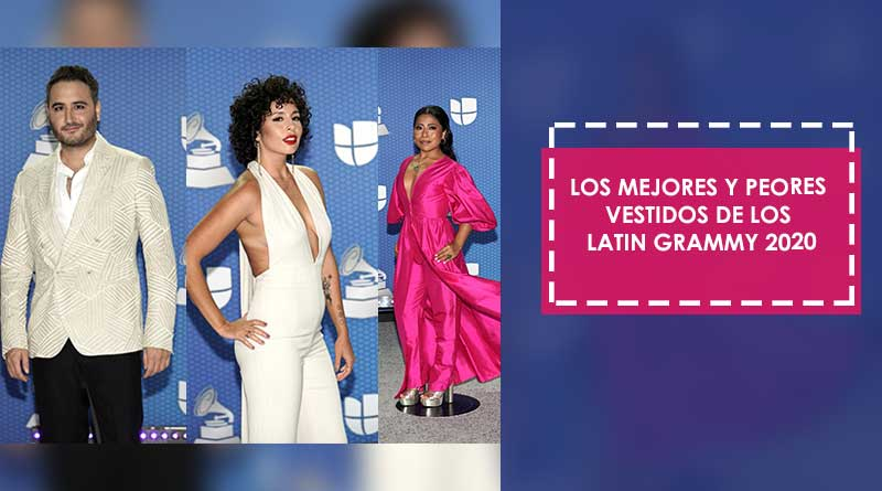 Los mejores y peores vestidos de los Latin Grammy 2020