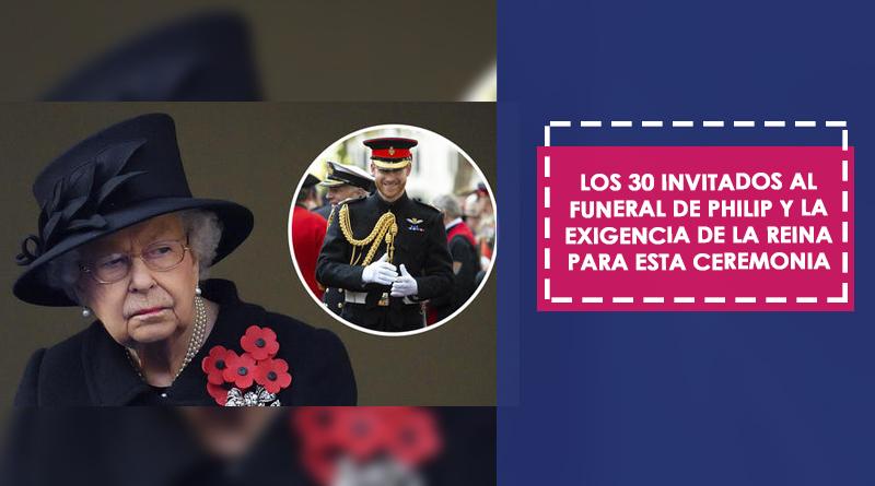Los 30 invitados al funeral de Philip y la exigencia de la reina para esta ceremonia