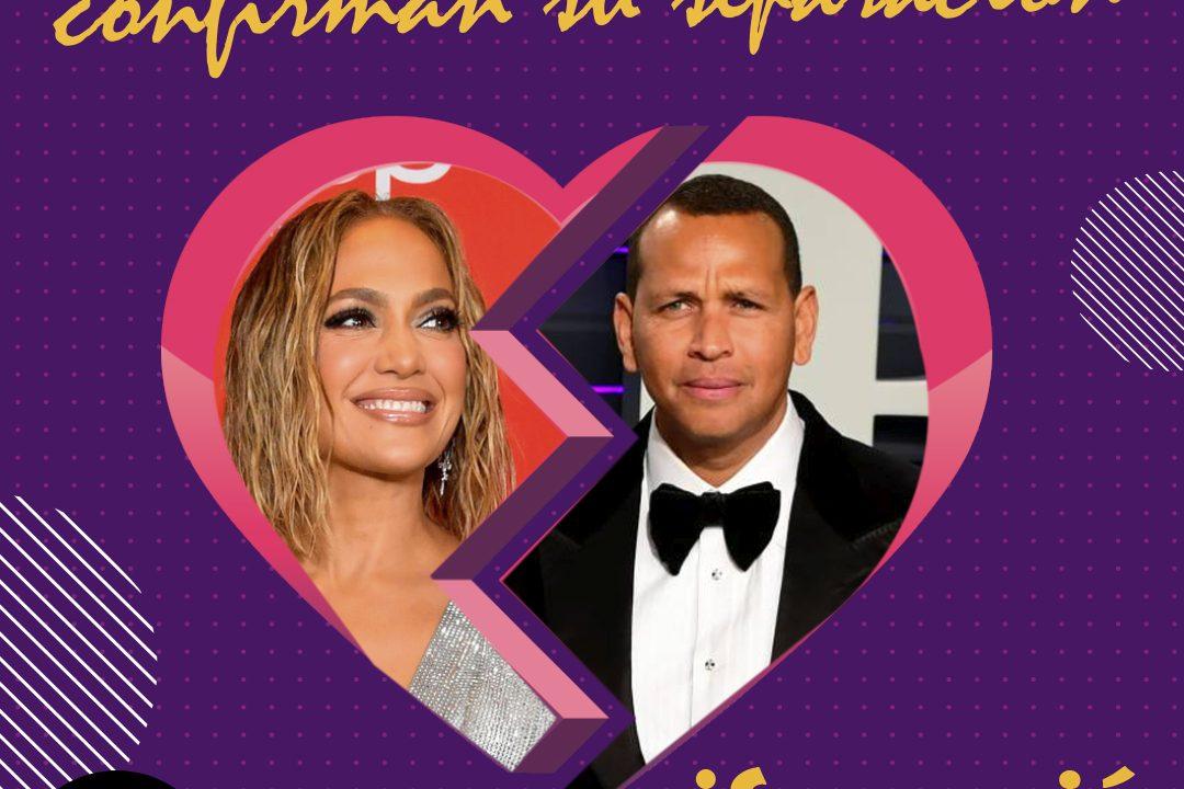 Jennifer Lopez y Alex Rodriguez finalmente confirman su separación