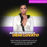 Demi Lovato se autodefine como de género no binario