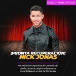 Nick Jonas tuvo que ir al hospital de emergencia, tras sufrir un accidente