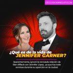 Jennifer Garner ignora el romance de su ex Ben Affleck con Jennifer Lopez