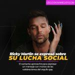 Ricky Martin publica fotografía usando uñas acrílicas