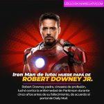 Iron Man de luto: muere papá de Robert Downey Jr.