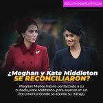 ¿Meghan Markle y Kate Middleton se reconciliaron?