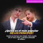 ¿Quién es el más popular de los príncipes?