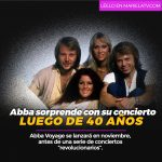 Abba sorprende con su concierto luego de 40 años