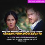 Meghan Markle y Príncipe Harry viajan a Nueva York para evento