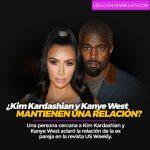 ¿Kim Kardashian y Kanye West mantienen una relación?